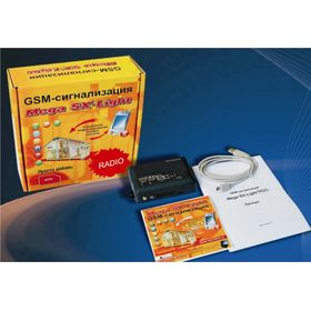 Mega SX-Light Radio USB охранная GSM-сигнализация